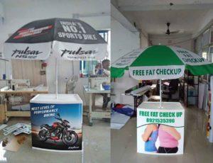 Promo Table with Umbrella in Chennai