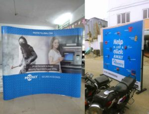 Pop Up Backdrop Stand in Chennai