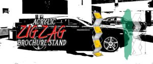 Zig Zag Brochure Stand