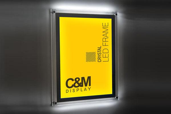 Crystal LED Frames