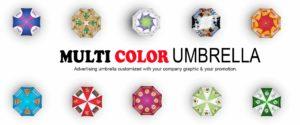 Fully printing umbrella