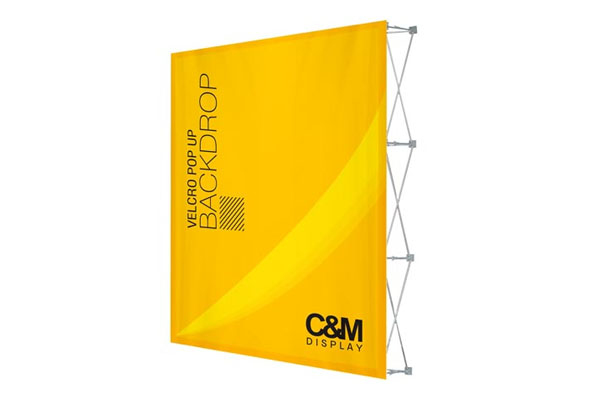 Velcro Pop Up Backdrop Stand